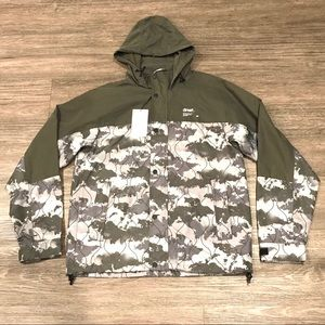 Zara Man Camo Jacket Sz Medium